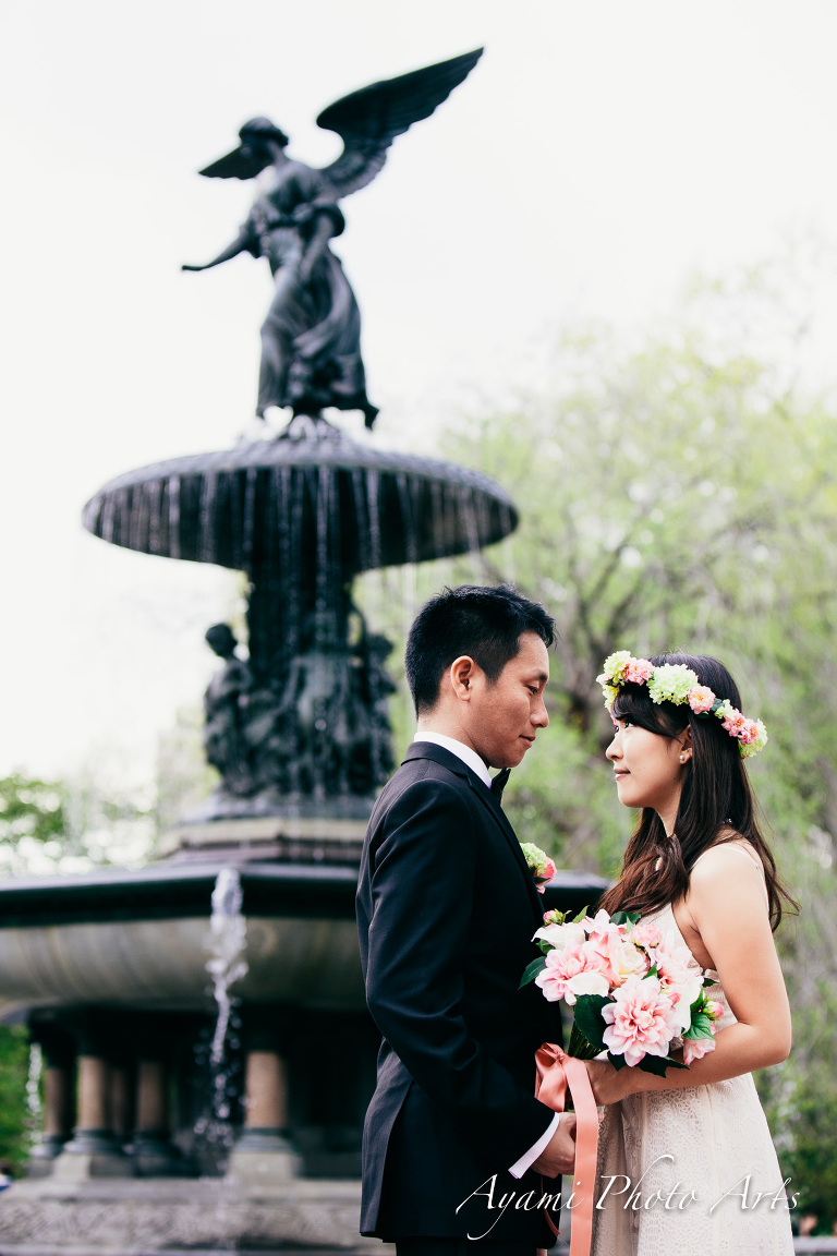 Central Park Wedding Photo / セントラルパーク ウェディングフォト