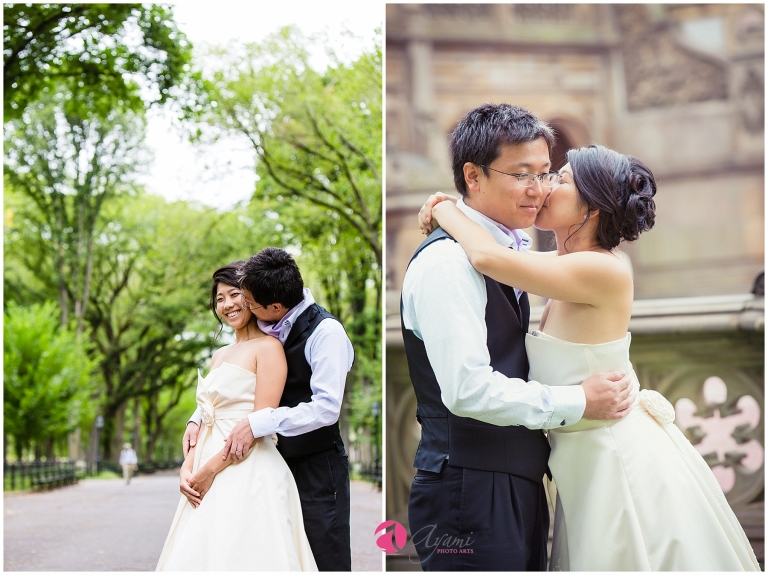 Central Park Family Photo & Wedding Anniversary