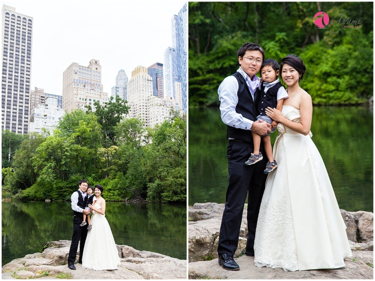 Central Park Family Photo & Wedding Anniversary