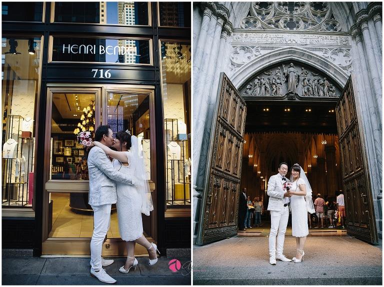 マンハッタン、結婚式前撮り